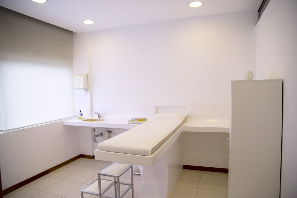 clinical trial room